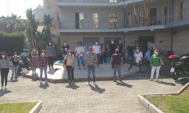 Vertenza Ideal Service e Util: sit-in di protesta a Siracusa