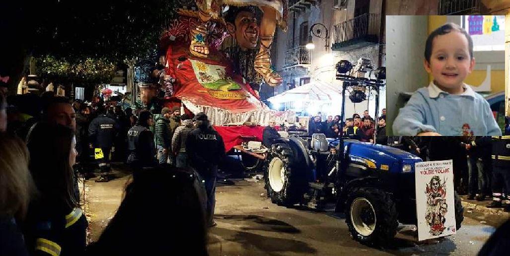 Il bimbo morto al Carnevale di Sciacca, la Procura chiede 3 rinvii a giudizio