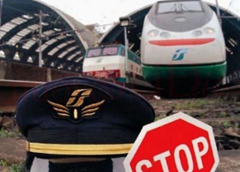 Il 10 e l'11 gennaio sciopero del personale di Trenitalia Sicilia