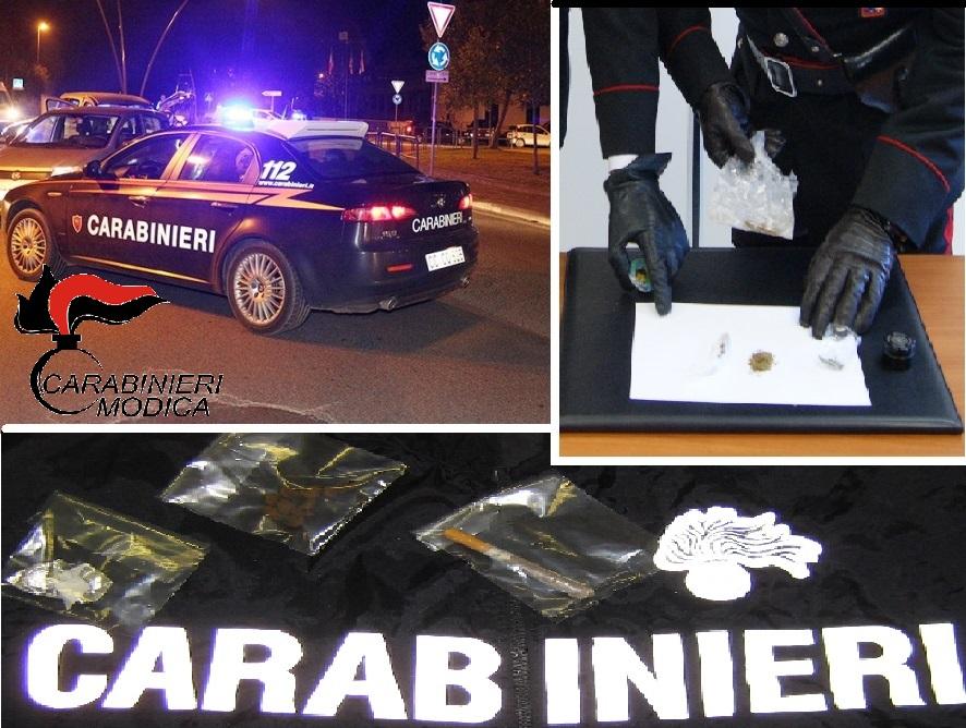 Modica, controlli antidroga dei Carabinieri
