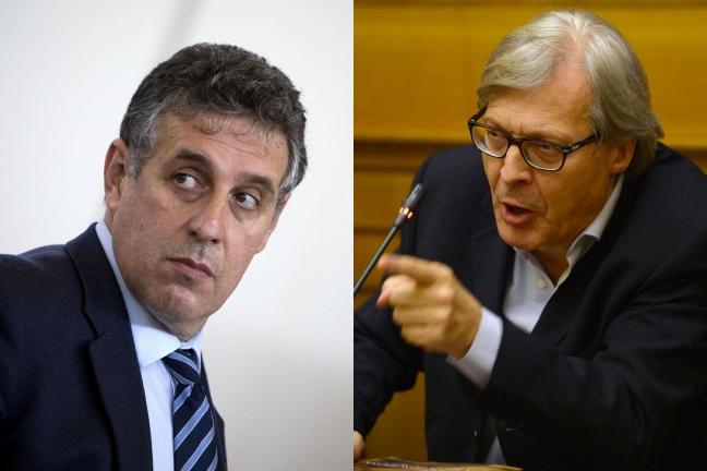 """Attacco a Di Matteo, l'associazione antimafia: """"Sgarbi sia rimosso"""""""