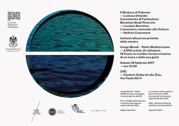 Imago Mundi: a Palermo la collezione di Luciano Benetton