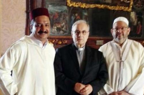Imam di Mazara incontra il vescovo Mogavero: