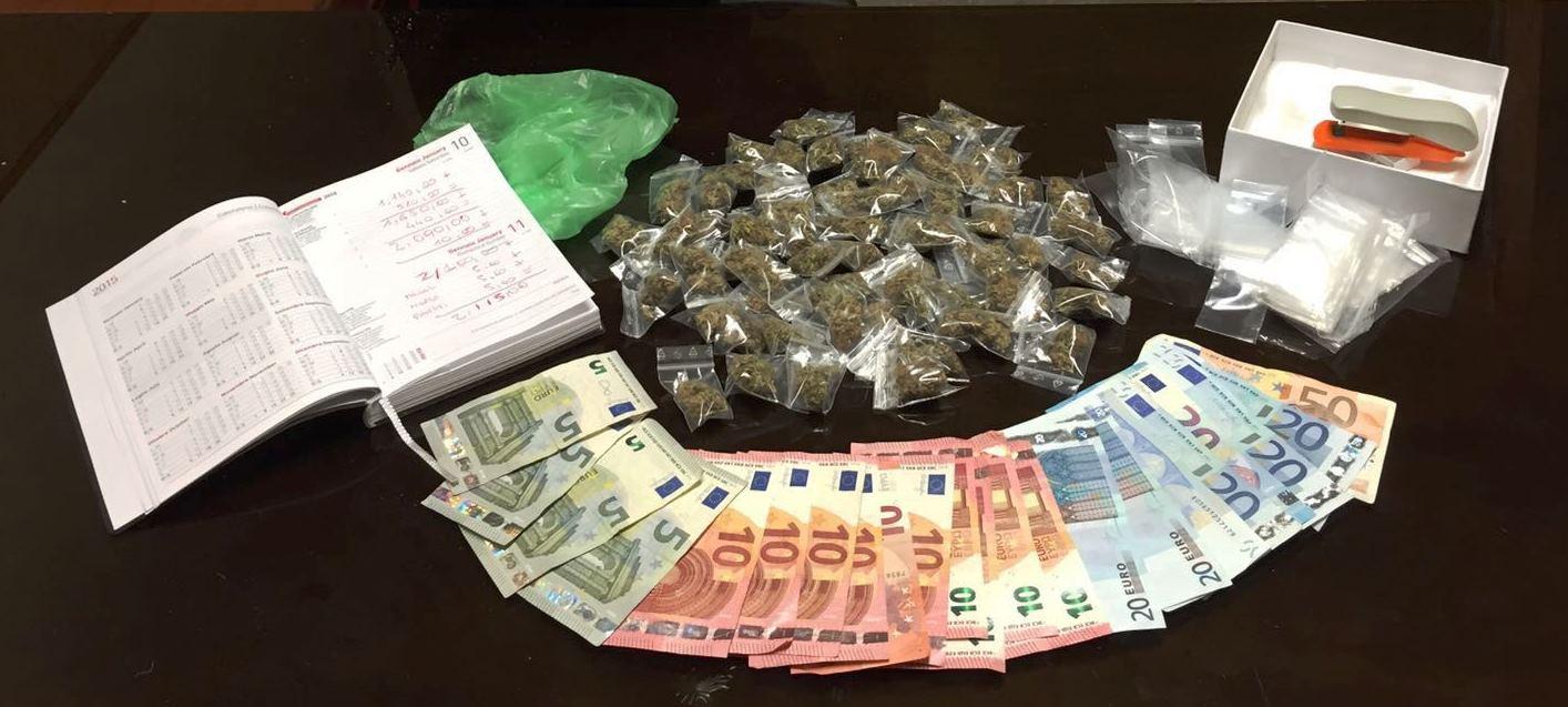 Catania, trovato con la droga in casa e arrestato
