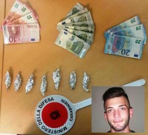 Catania, trovato con 7 dosi di marijuana: arrestato