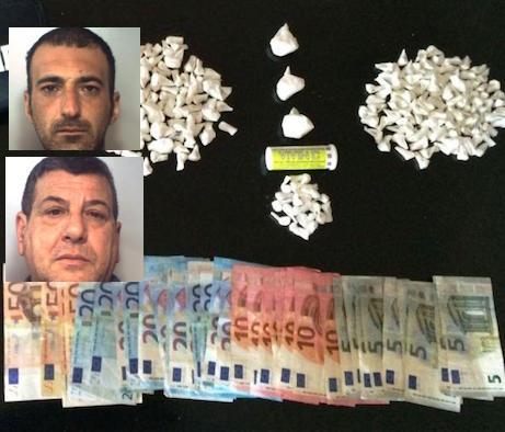 Catania, droga nascosta nel vano ascensore: due arresti