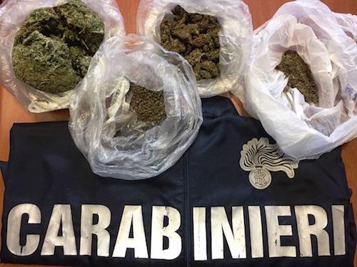 Catania, sull'uscio di casa pronto a vendere droga: arrestato