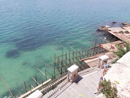 "Siracusa, Ortigia sostenibile: ""Irregolarità al solarium di Fonte Aretusa"""