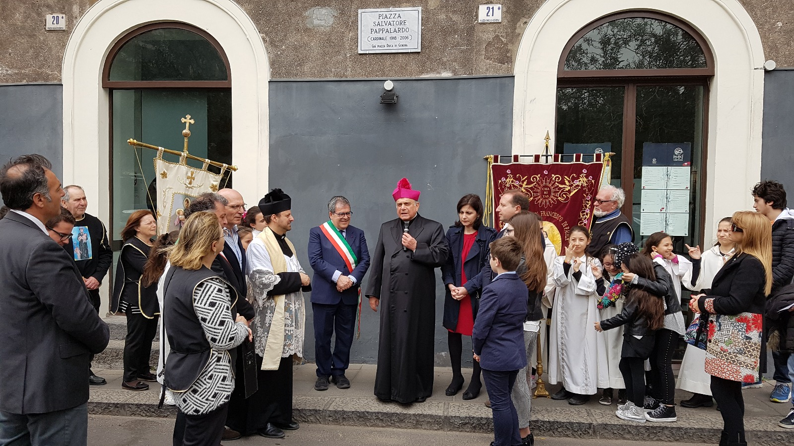 Catania, intitolata una piazza al cardinale Salvatore Pappalardo
