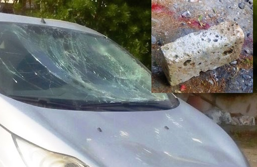 Picchia l'ex e distrugge l'auto con un mattone, arrestato a Mascalucia