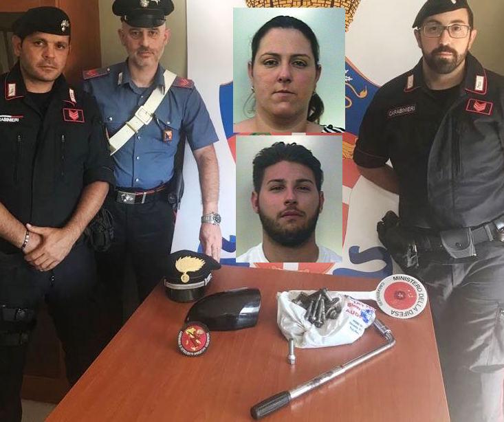 Professionisti nella truffa dello specchietto, arrestati ad Adrano