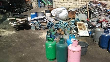 Rame rubato e rifiuti pericolosi smaltiti illegalmente a Catania
