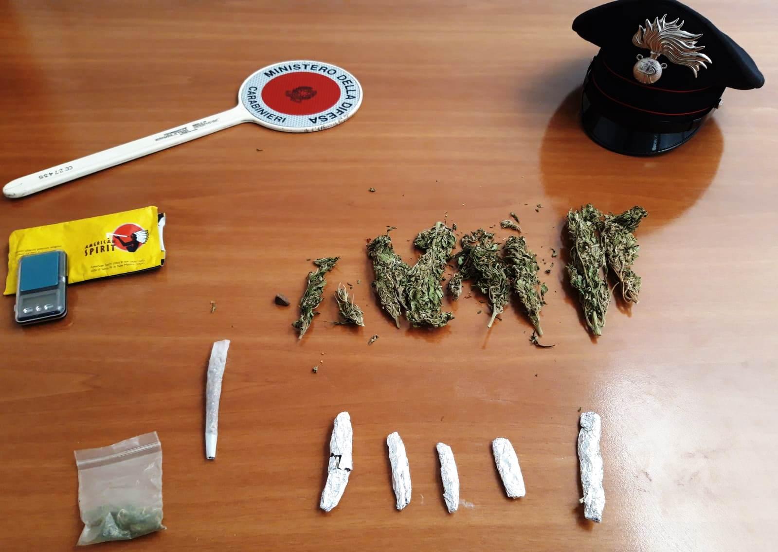 Presi alla periferia di Caltagirone con il 'fumo': due agli arresti in casa