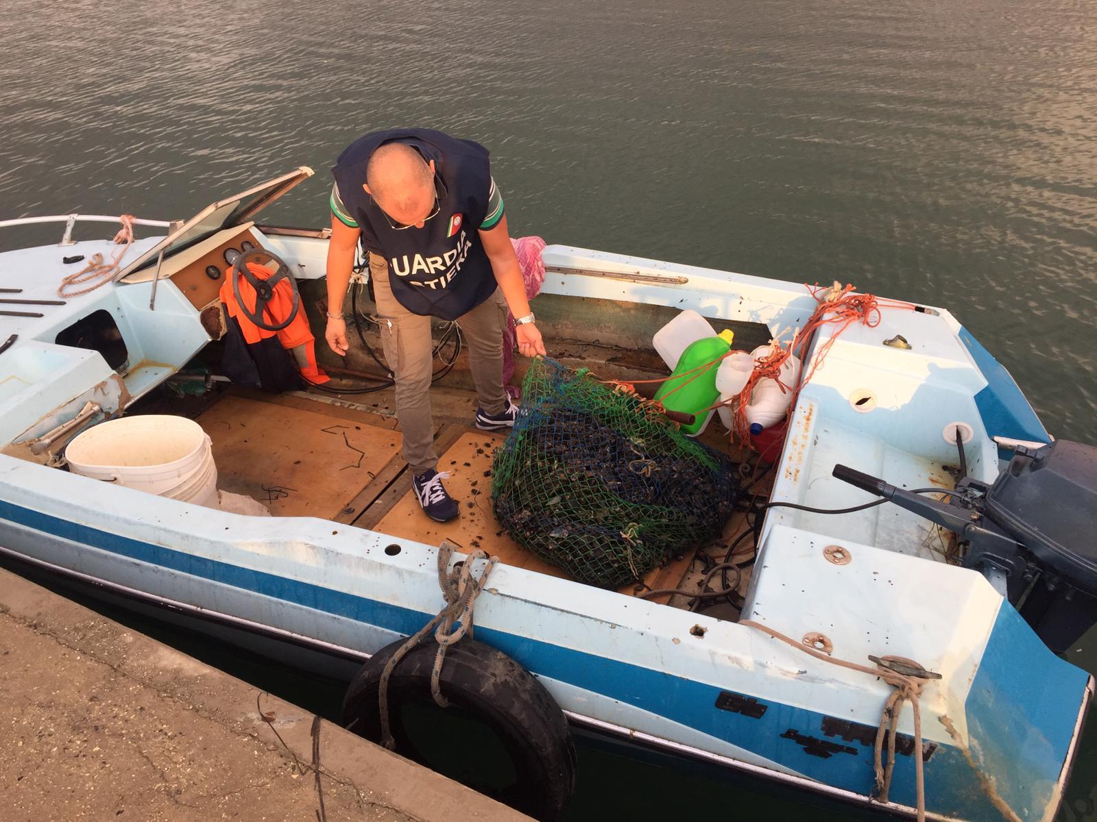 Pesca di frodo a Siracusa, sequestro di 10 chili di  prodotti ittici e 3 sanzioni