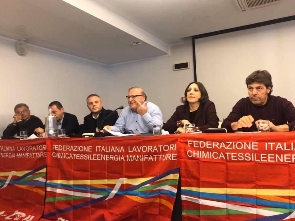 Siracusa, Fiorenzo Amato nuovo segretario dei Chimici della Cgil