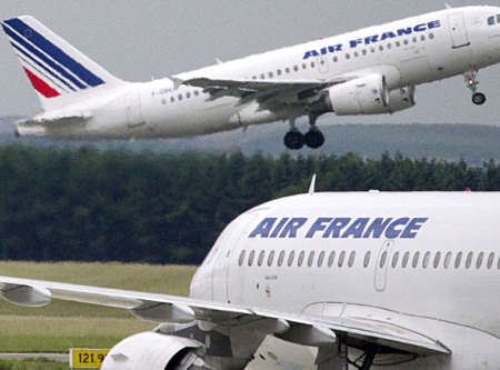 Due falsi allarme bomba su voli Air France