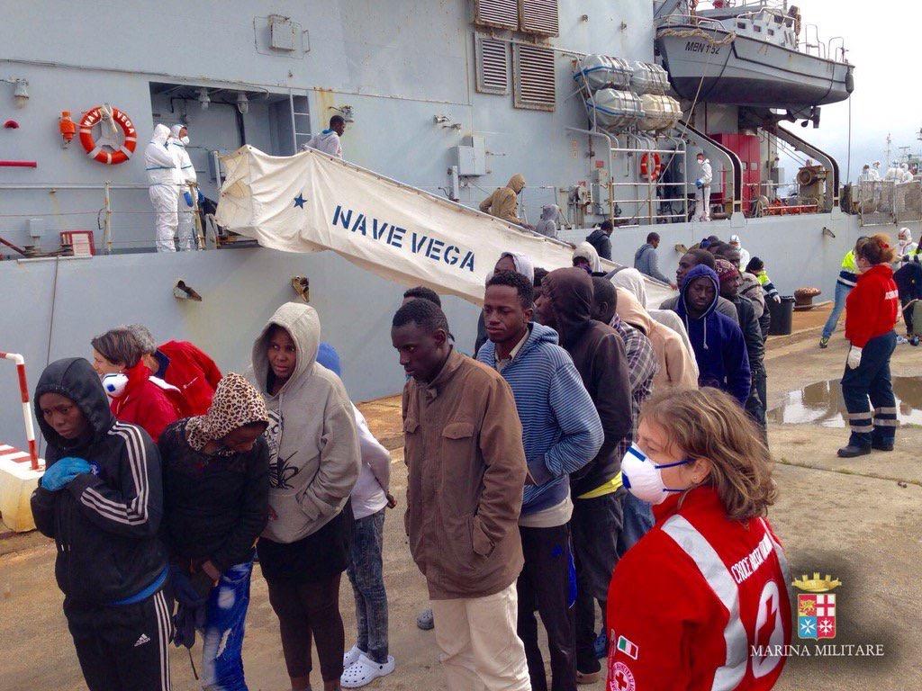 Esodo di migranti, mille persone tra Augusta, Pozzallo e Lampedusa