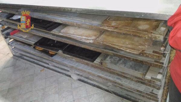 Carenze igienico-sanitarie, chiuso un panificio a Catania