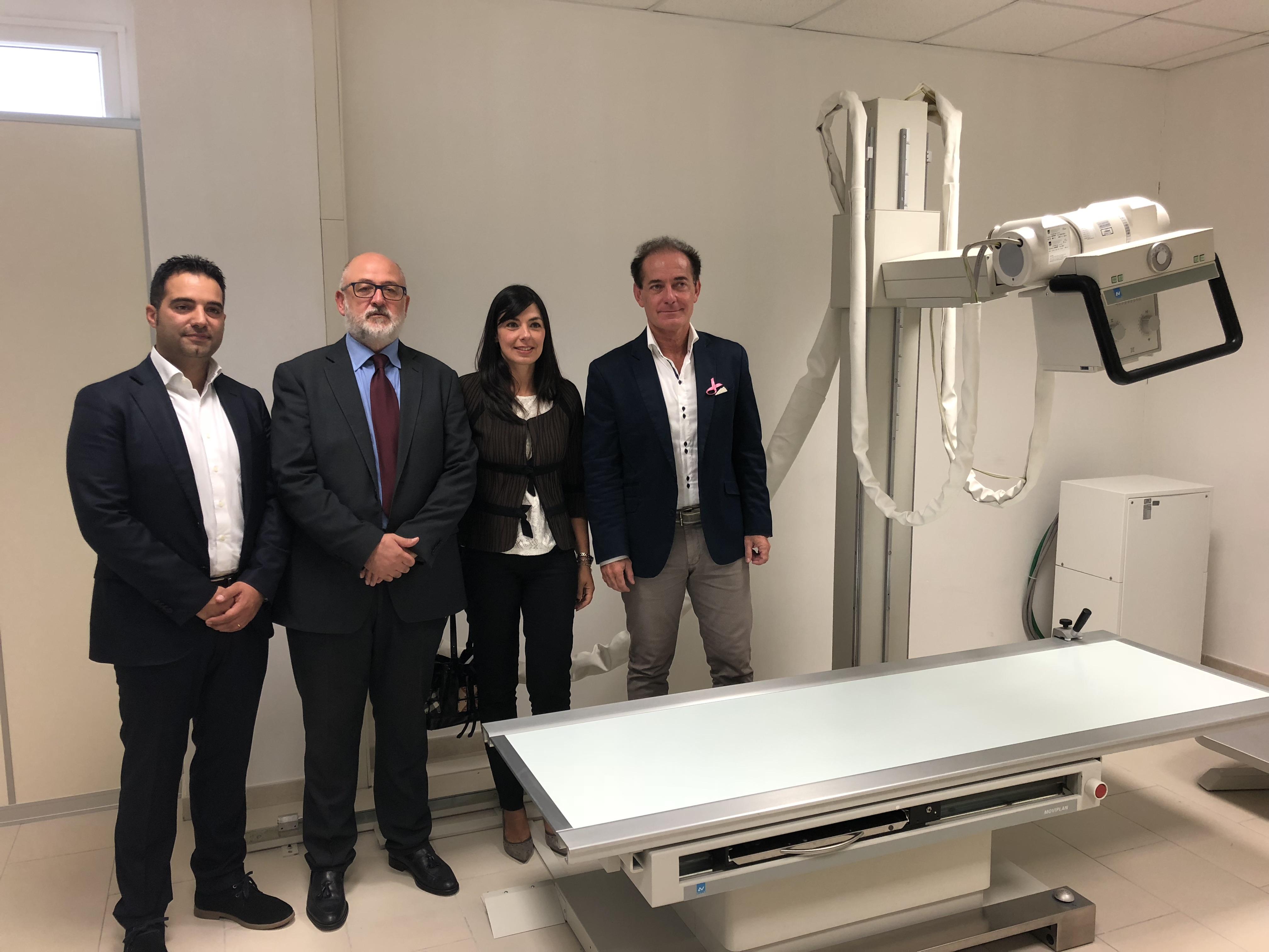 Palazzolo, il nuovo ambulatorio di Radiologia del PTA apre i battenti
