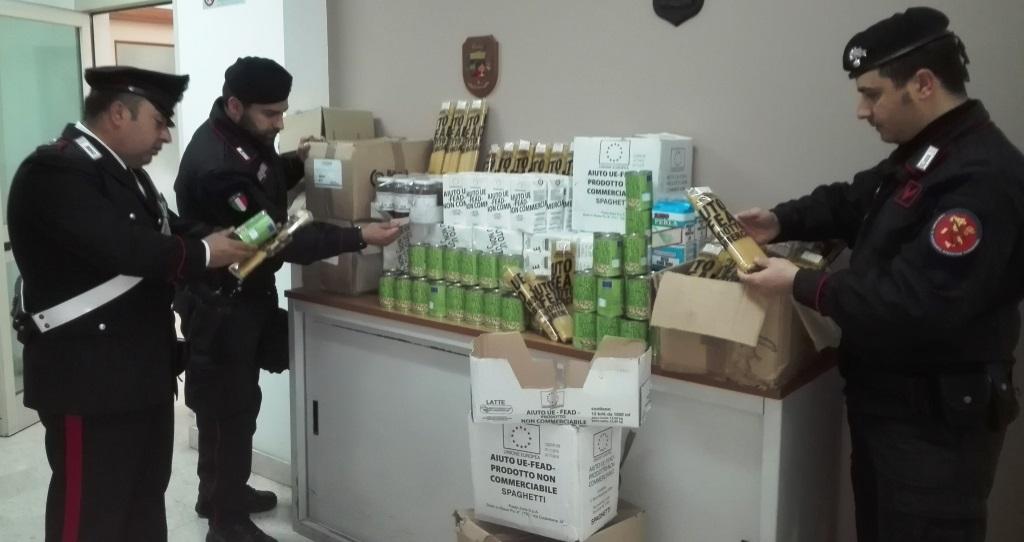 Biancavilla, aveva in casa alimenti per i migranti: denunciato per ricettazione
