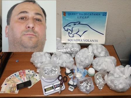 Catania, cela in una Mercedes parcheggiata 70 grammi di cocaina