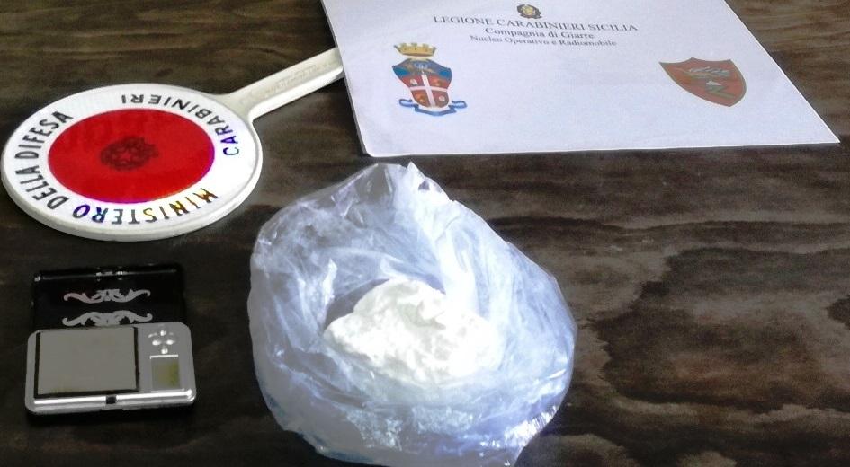 Nasconde cocaina in garage, agricoltore di Riposto arrestato