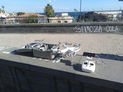 Usa il drone abusivamente a Catania, sequestro e denuncia