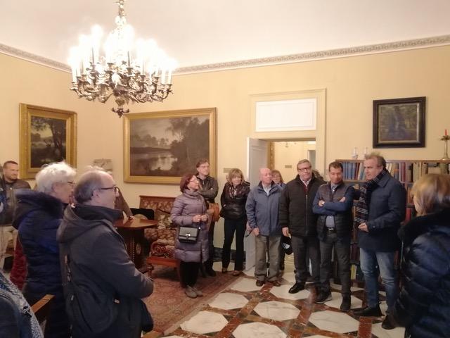Ex allievi del liceo 'Gargallo' di Siracusa alla scoperta di Villa Reimann