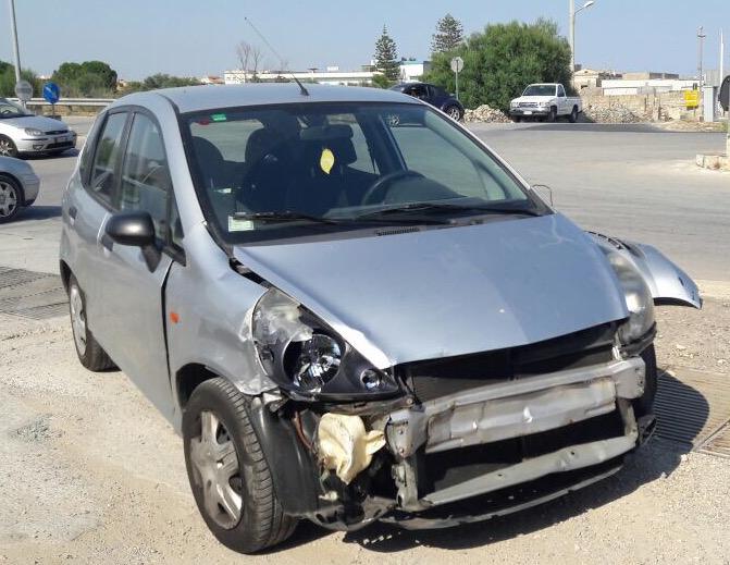 Incidente alla Circonvallazione di Avola, due persone coinvolte
