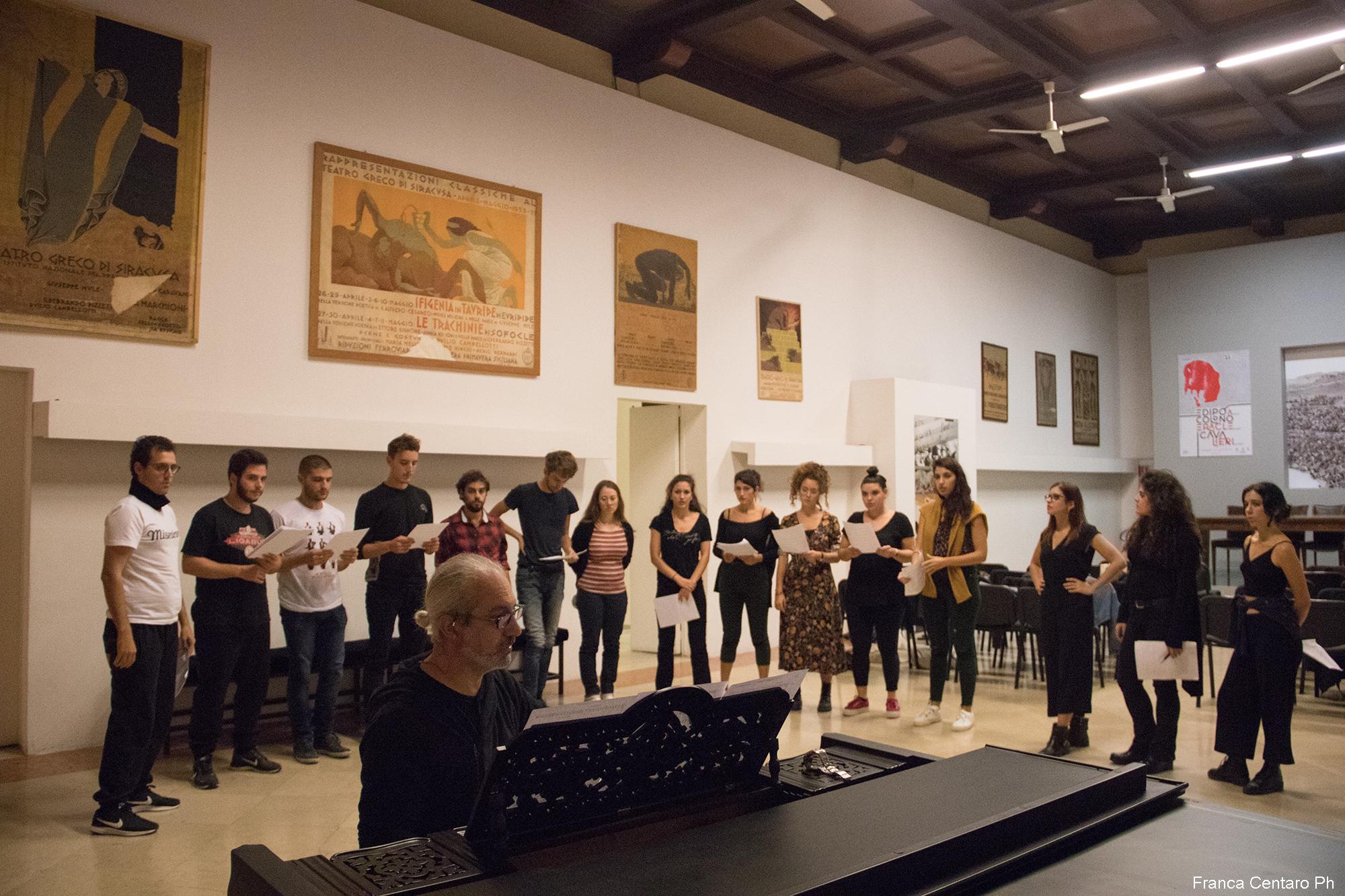 L'ensamble dell'Accademia dell'Inda di Siracusa sarà ospite a Siena