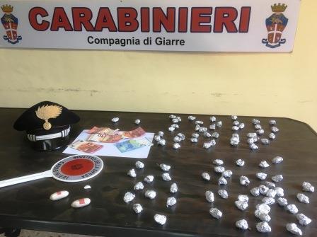 Tre arresti a Giarre per eroina e marijuana nel quartiere