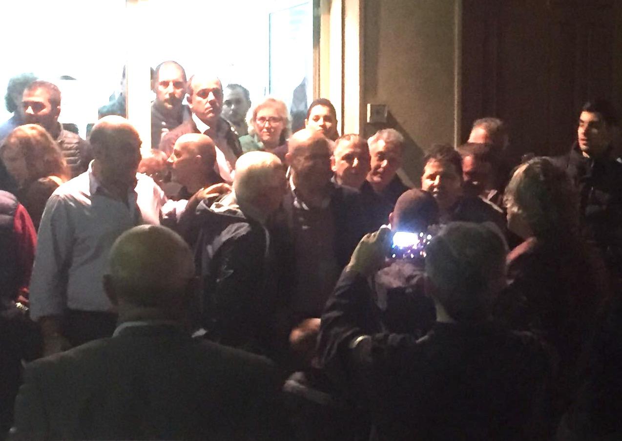 L'abbraccio di Solarino a Cutrufo candidato alle Regionali con Ap
