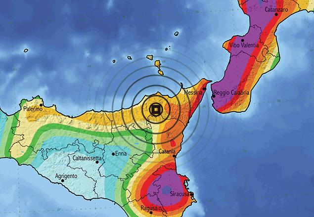 Nuova scossa di magnitudo 3.3 nello Stretto di Messina