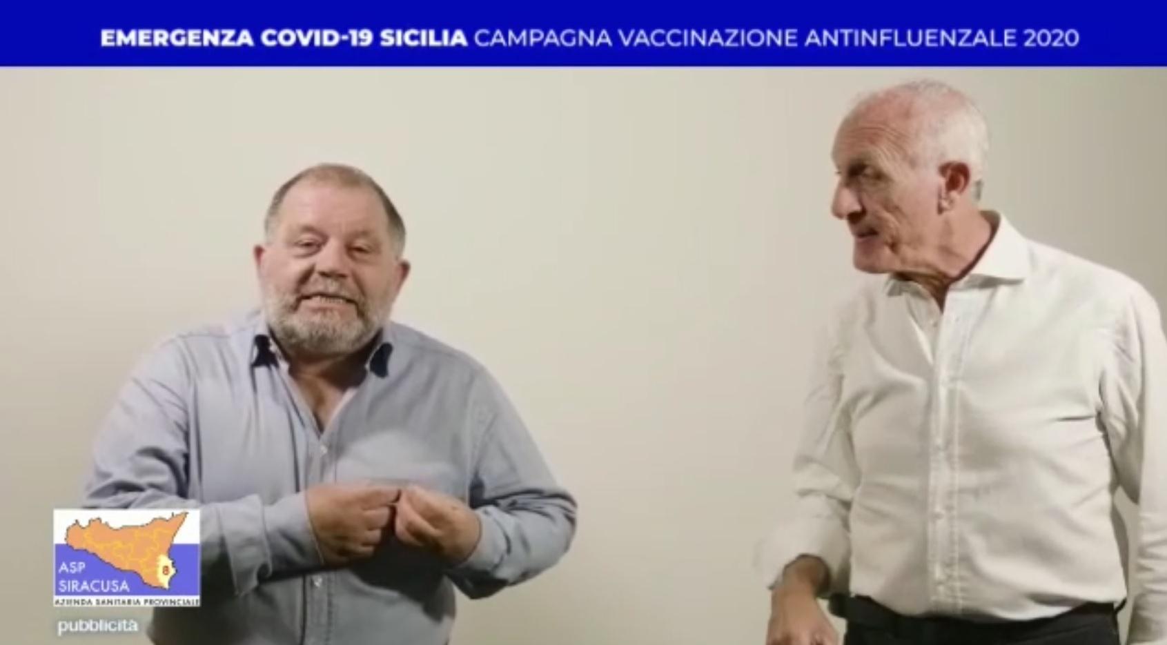 Vaccino antinfluenzale, l'Asp di Siracusa sceglie come testimonial Toti e Totino