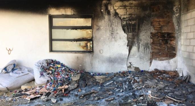 Rosolini, in fiamme la chiesa Santa Caterina: solidarietà del sindaco
