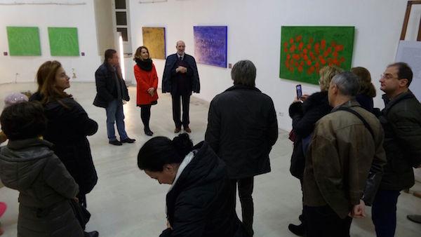 """Siracusa, inaugurata """"Senza nero"""": la mostra di Anna Di Fusco"""