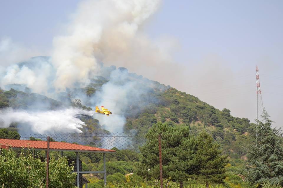 """Incendi, Cgil Catania: """"Inconcepibile l'Etna devastato dalle fiamme"""""""