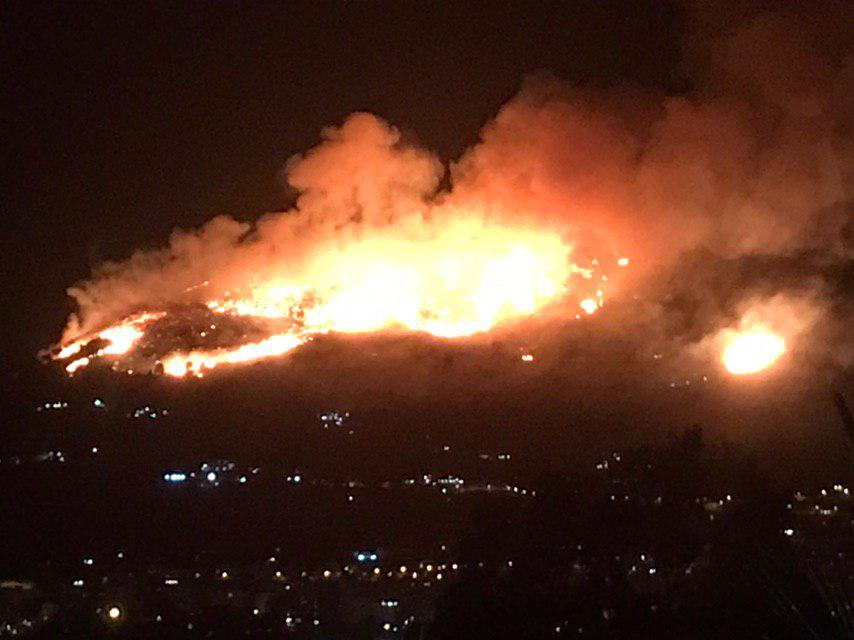 Raffica di incendi nel Palermitano: fuoco da 24 ore