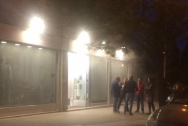 """Siracusa, scoppia un incendio nel negozio """"Wimbledon urban style"""""""