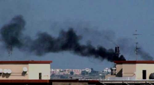 Cr35, principio di incendio alla raffineria Isab Nord di Priolo
