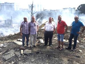 Finita l'emergenza fuoco a Catania dopo i roghi a Fossa Creta e Zia Lisa