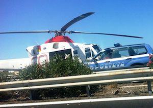 Donna morta in un incidente sulla Termini  Imerese - Caccamo