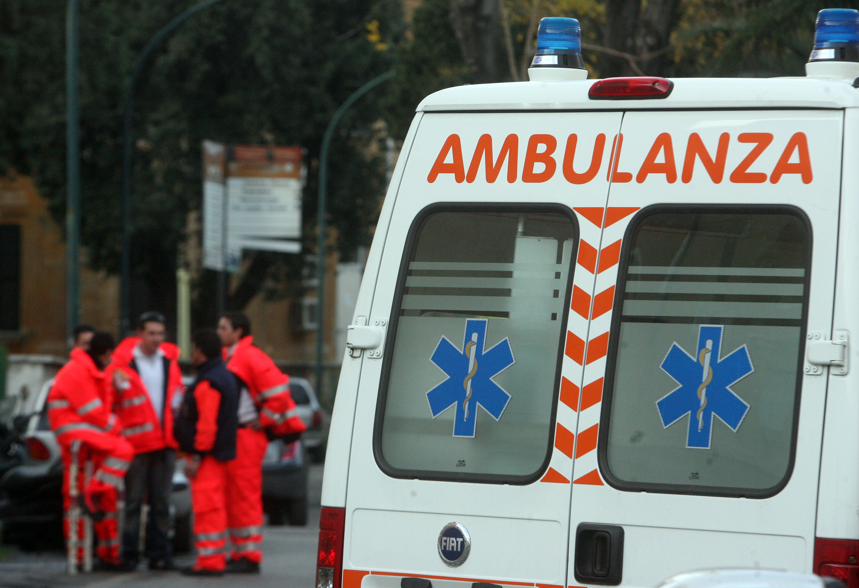 Incidente stradale a Butera a causa del maltempo, due feriti