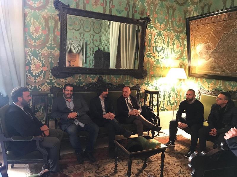 Il presidente del Siracusa incontra il sindaco, Italia: massimo sostegno alla squadra
