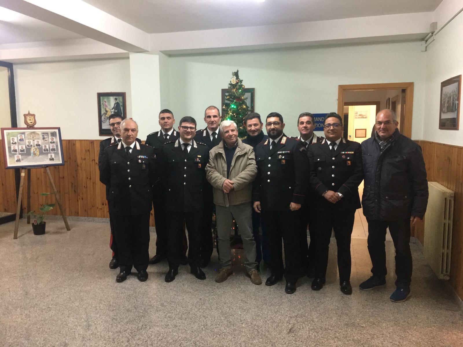 I carabinieri incontrano le associaizoni antiracket a Noto
