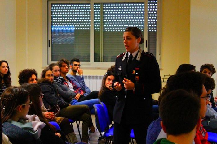 """Bullismo, i carabinieri di Siracusa al liceo classico """"Gargallo"""""""
