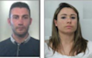 Arrestata una coppia di banditi, sono accusati di rapina in una banca di Barrafranca