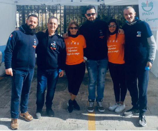 Ragusa, alla maratona assistenza sanitaria degli infermieri volontari Cives