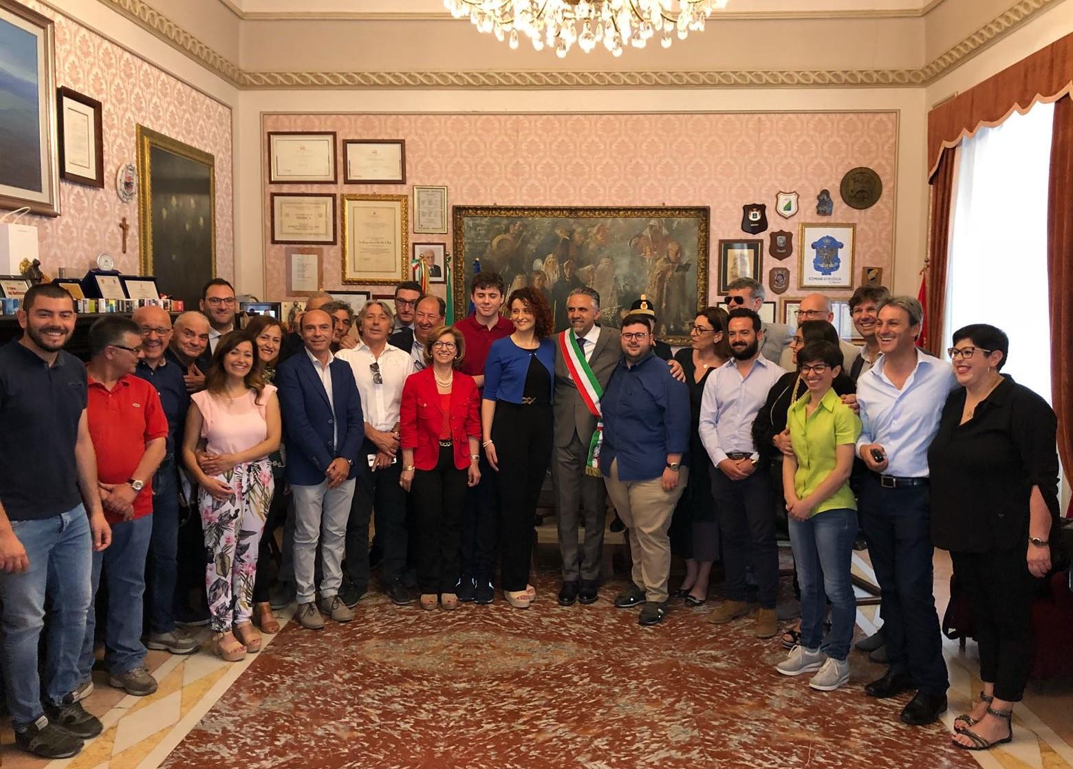 Modica, a Palazzo San Domenico proclamazione ufficiale dell'Abbate-bis