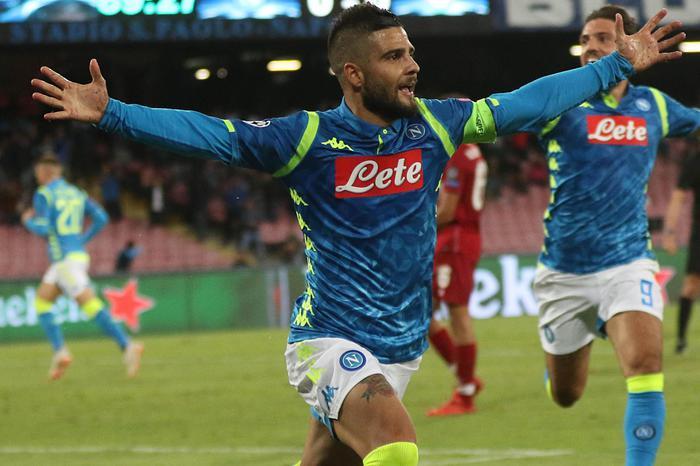 Insigne infiamma il San Paolo, il Napoli batte il Liverpool in Champions